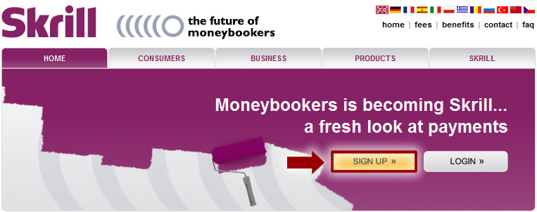 moneybookers fees